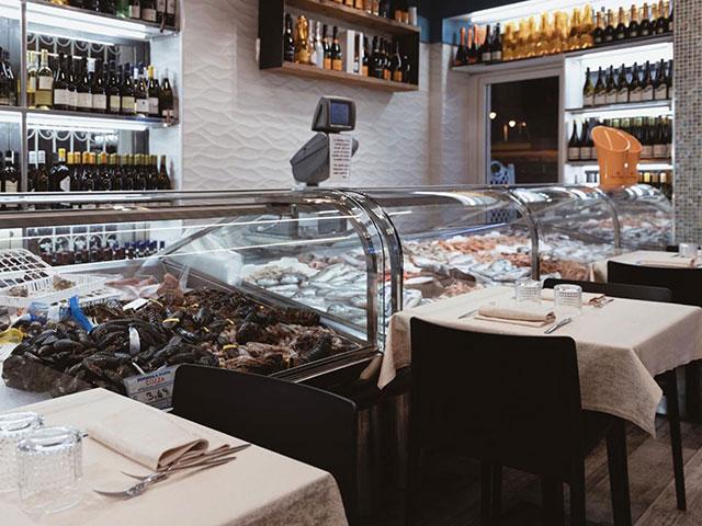 Pescheria e ristorante a Livorno